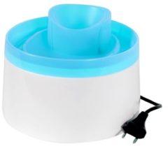 Blauwe Zolux drinkfontein 20x20x15 cm 2 ltr