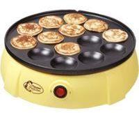 Bestron Poffertjes Gerät DLD5009, für 14 Poffertjes, 650 Watt