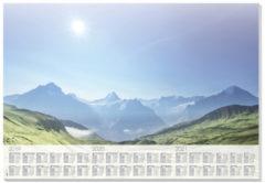 Onderleggers Sigel Mountain met 3 jarig kalendarium 30 vel 2019/20/21