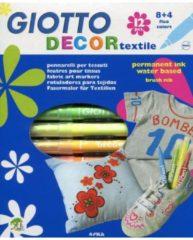 Pennarelli per tessuti Giotto Decor Textile - assortiti - conf. 12