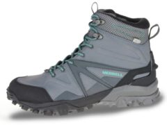 Merrell Capra Glacial Ice+ Mid Waterproof Women Damen Winterboots Größe UK 5,5 charcoal grey