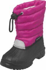 Roze Playshoes snowboots koord uni fuchsia