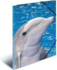 Elastomappen Herma 7146 A3 PP - Dolfijnen