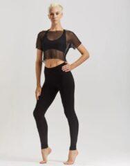 Temps Danse - Artist - Legging - Dames - Yogabroek - Sportbroek - Dansbroek - Viscose - Zwart - L