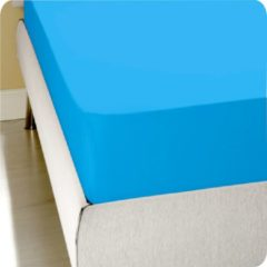 Homéé® Hoeslaken Jersey stretch (tot 30 cm) 120x200/220 100% katoen | ventilerend, comfortabel en luchtig Twijfelaar Turquoise