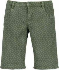 Blue Seven heren bermuda groen jogg jeans - maat XL