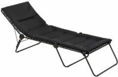 Lafuma Siesta L Air Comfort - Strechter - Ligbed - Inklapbaar - Verstelbaar - Acier