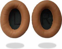 Mix-Media Oorkussens voor Bose QuietComfort 35 ii / 35 / 25 / 15 / 2 / AE2 / AE2W / AE2I - Oorkussens voor koptelefoon - Ear pads headphones bruin