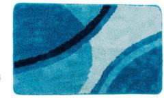 Bagnola Badematte Woge - Größe 70x120cm, Blau
