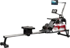 Rode Hammer Fitness Roeiapparaat - Hammer Ocean One - Roeitrainer - LCD scherm incl. tablethouder