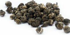 Black & Green Tea Company Jasmine Dragon Pearls - Losse Groene Thee - Loose Leaf groen Tea - 1 kilo
