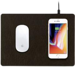 Minibatt Powerpad - Een Muismat Met Qi Wireless Charger Bruin