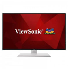 ViewSonic VX Series VX4380-4K 43Zoll 4K Ultra HD LED Matt Flach Schwarz Computerbildschirm VX4380-4K