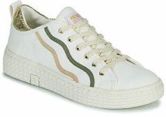 Palladium TEMPO 02 cvs - Volwassenen Lage sneakers - Kleur: Wit/beige - Maat: 37
