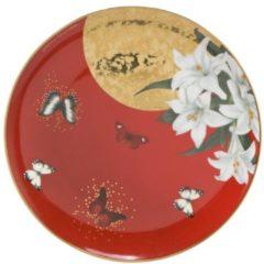 Lilies Red Frühstücksteller Artis Orbis Goebel Bunt