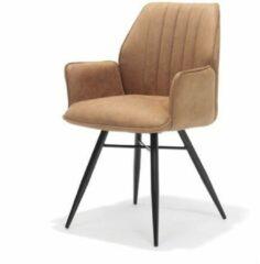 Bo Lundgren RV Design - Eetkamerstoel Clark Cognac