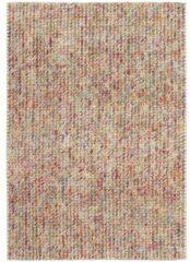 MOMO Rugs - Rainbow Multicolour Vloerkleed - 140x200 cm - Rechthoekig - Laagpolig, Structuur Tapijt - Modern, Retro - Meerkleurig