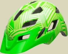 Bell Sidetrack Youth Kinder/Jugend Fahrradhelm Kopfumfang Unisize 50-57 cm kryptonite/retina sear