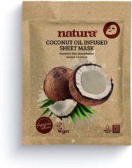 Transparante NATURA COCONUT INFUSED SHEET MASK