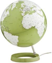 Atmosphere Globe Bright Pistachio 30cm diameter kunststof voet met verlichting