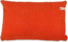 Oranje In The Mood Bering kussen 35 x 55 cm - 9 kleuren - 2 stuks - Grapefruit