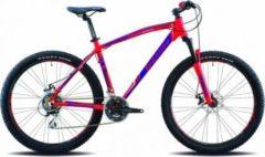 27,5 Zoll Legnano Lavaredo Mountainbike 21 Gang Legnano matt-rot-blau