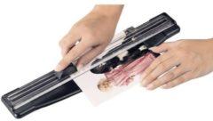 Zwarte Hama ProCut 310 Rolsnijmachine A4 Aantal paginas A4 80 g/m² (max): 5 vel