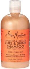 Shea Moisture SheaMoisture Coconut & Hibiscus Curl & Shine Shampoo 384 ml