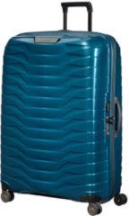 Blauwe Samsonite Proxis Spinner 81 Petrol Blue