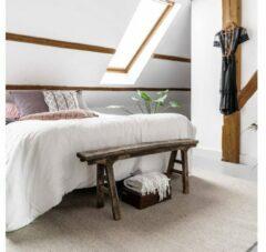 Zilveren EVA Interior Wollen vloerkleed Grijs - Cobble stone - 140 x 200 cm - (S)