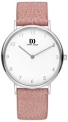 Zilveren Danish Design watches edelstalen dameshorloge Sydney Silver Pink IV20Q1173