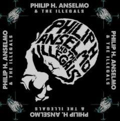 Rock Off Phil H. Anselmo & The Illegals Bandana Face Zwart