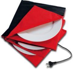Rode Solis Accessoires Bordenwarmer Rood/Antraciet 32cm