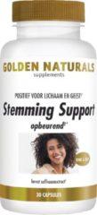 Golden Naturals Stemming Support (30 veganistische capsules)