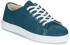 Blauwe Lage Sneakers Dream in groen JAKANIS