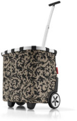 Bruine Reisenthel carrycruiser - Trolley - Boodschappenwagentje - boodschappentrolley - Polyester - baroque taupe