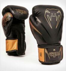 Venum Impact Muay Thai Bokshandschoenen Zwart Brons maat 10 OZ