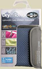 Sea to Summit Drylite Towel Mikrofaser Handtuch Größe S cobalt blue