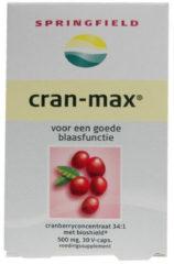 Springfield Cranaxil Cranberry 500 Mg (30vc)