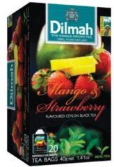 Dilmah thee mango/aardbei 12 x 20 zakjes
