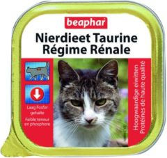 Beaphar Nierdieet - Kip - Kattenvoer 16 stk. X 100 g