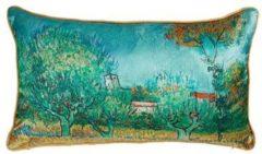 Beddinghouse x Van Gogh Museum Countryside - Sierkussen - 30x50 cm - Blauw