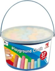 Basic Playground Stoepkrijt 37 stuks in Ton