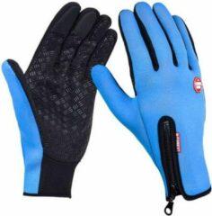Chimb Wintersport handschoenen - maat L - blauw - met grip