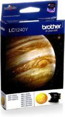 Gele Brother LC-1240 - Inktcartridge / Geel
