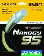 Gele Yonex Nanogy 95 / NBG 95 Badminton bespanning