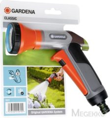 Grijze Gardena Classic Broespistool - Grijs/Oranje