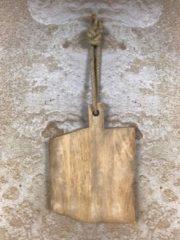 Homestylingshop.nl Snijplank - warm bruin - mangohout - 42x29 cm