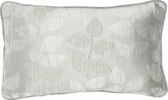 Zilveren A&E Originals - Kussen Silver Leaf print - 30 x 50 cm