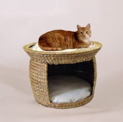 SILVIO DESIGN Katzen-Bett »Wasserhyazinthe«